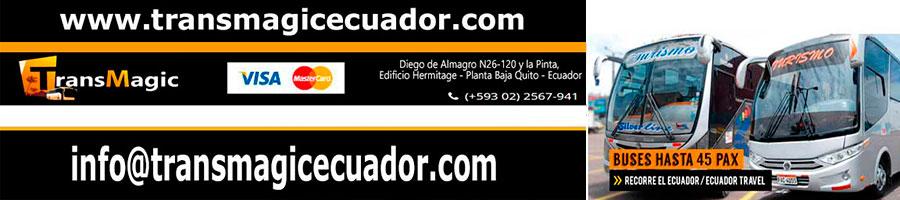 alquiler de transporte turistico ecuador